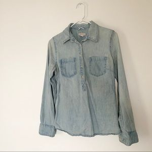 Denim Button Up | Woman | Merona